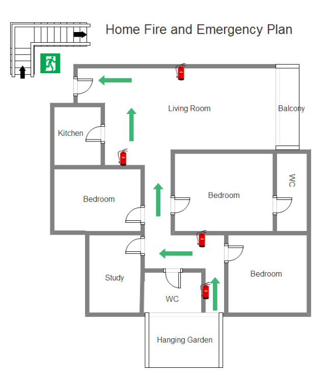 Home Daycare Fire Evacuation Plan Printable Daycare Emergency Preparedness Plan Template
