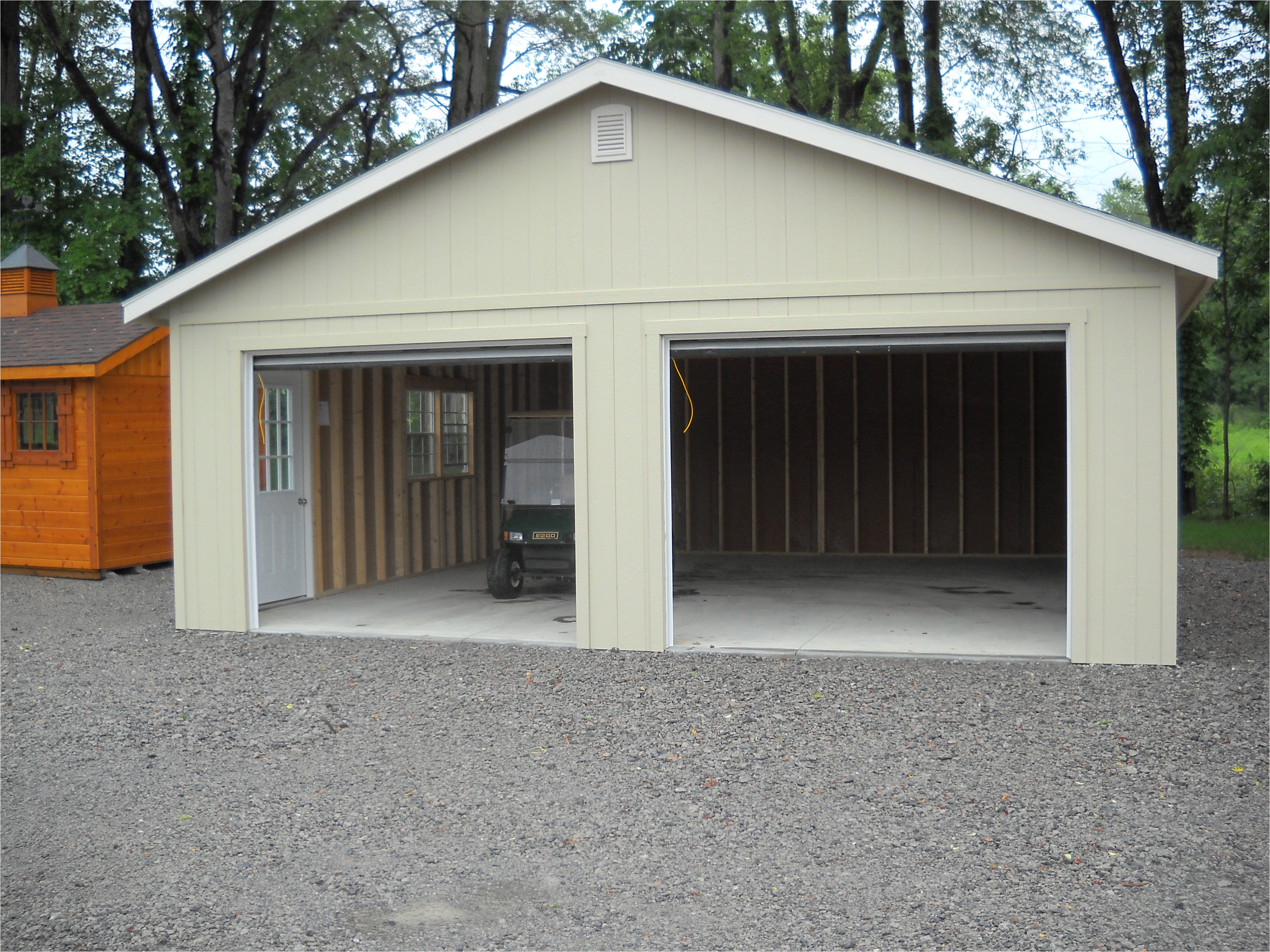 pre built cabins home depot