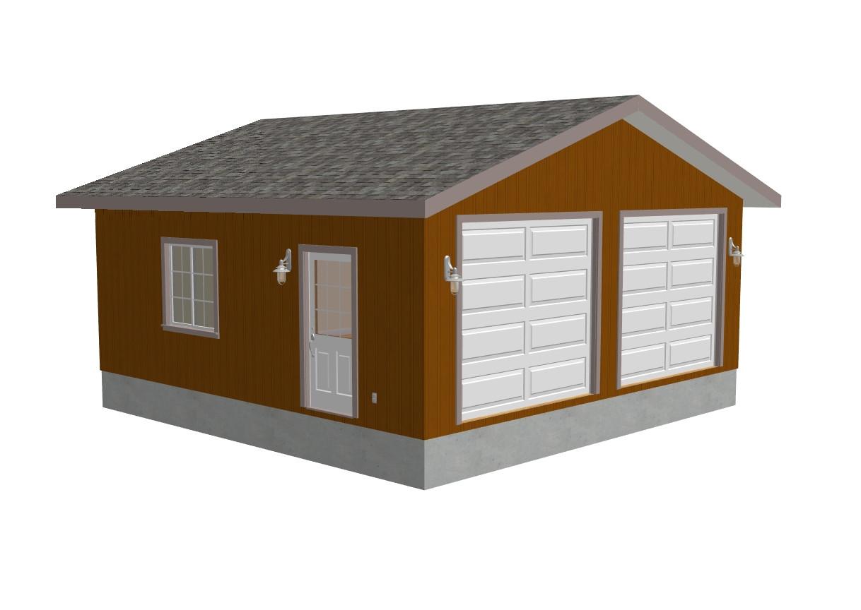 Home Depot Garage Plans Zekaria 24×24 Garage Plans Diy