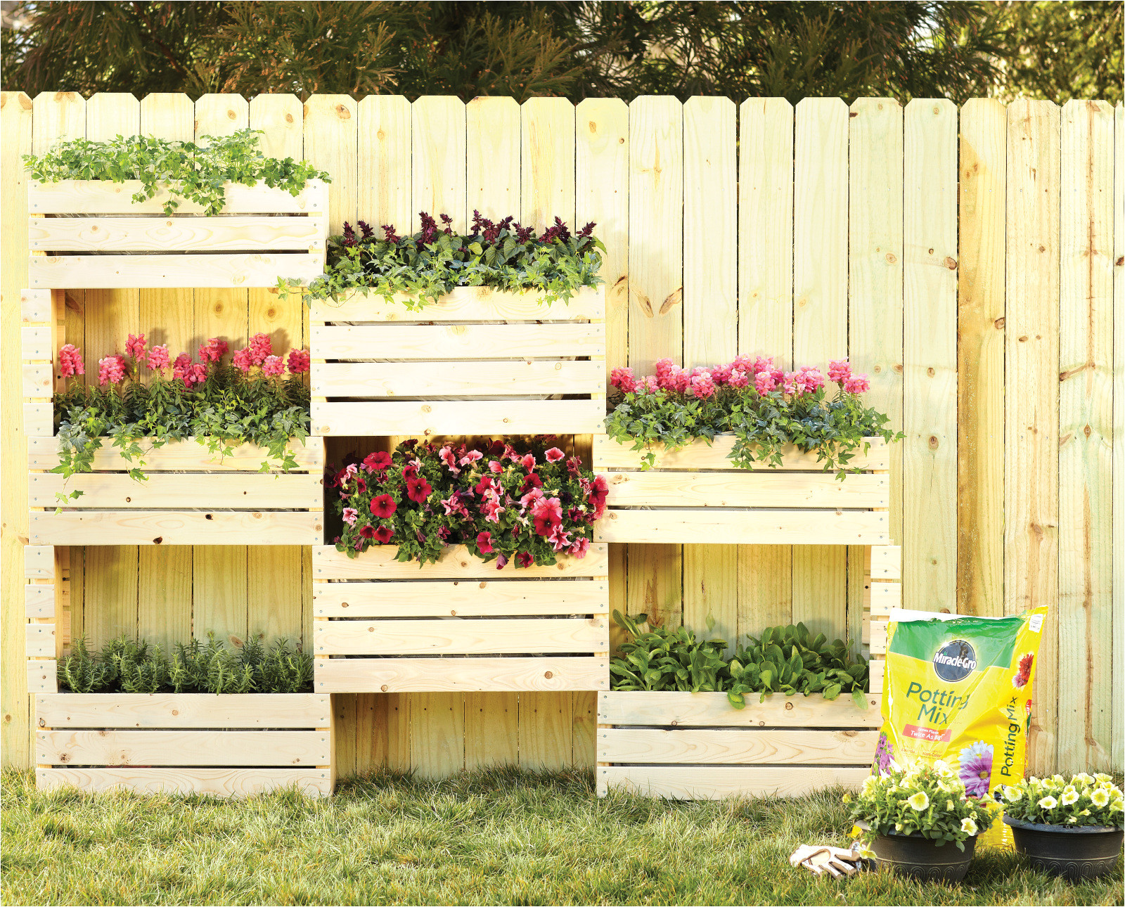 vertical planter project