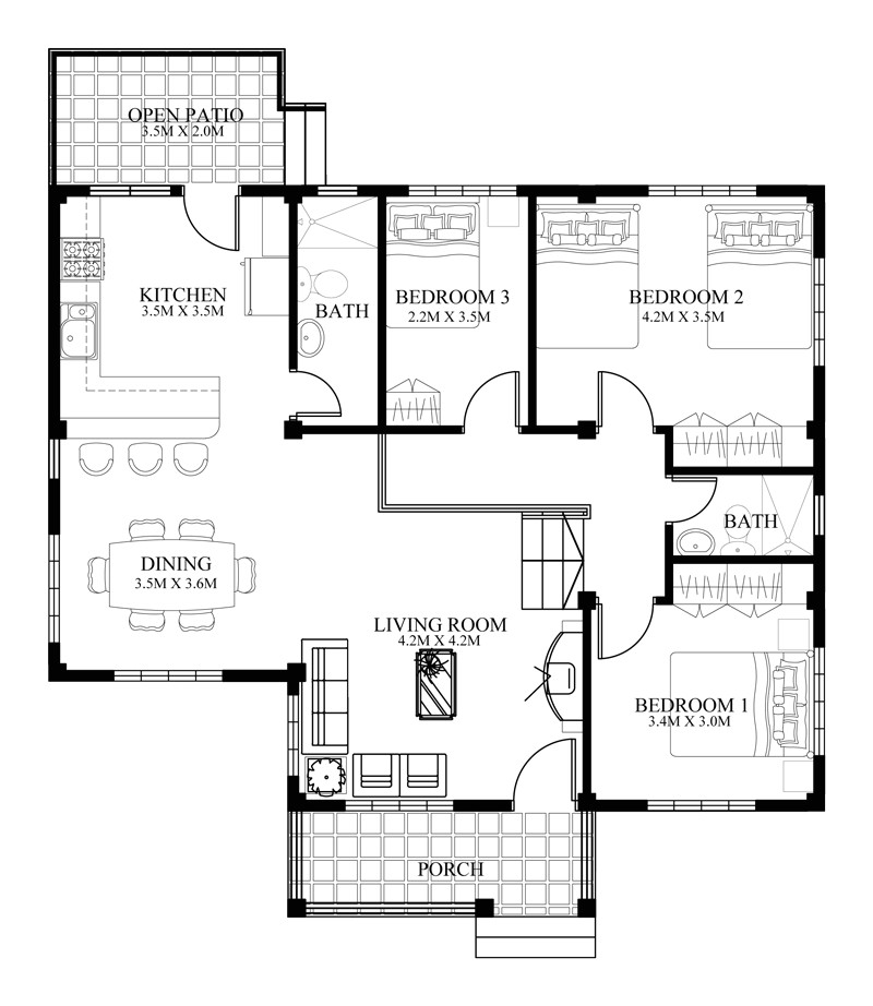 small house designs series shd 2014006v2