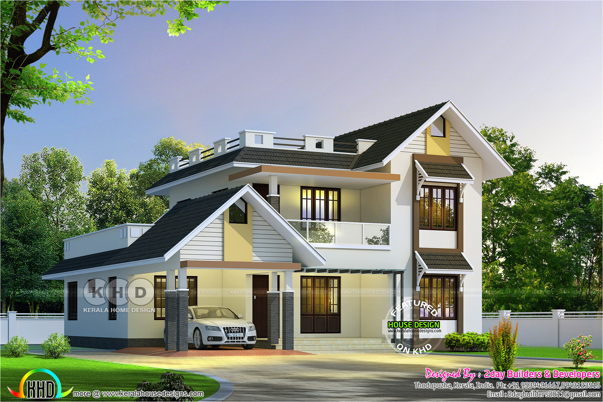 Home Design Plans with Photos In Kerala August 2017 Kerala Home Design and Floor Plans