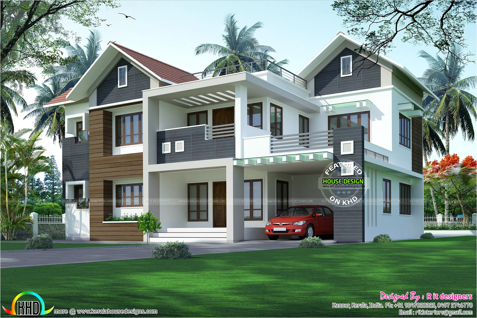 Home Design Plans with Photos In Kerala January 2017 Kerala Home Design and Floor Plans