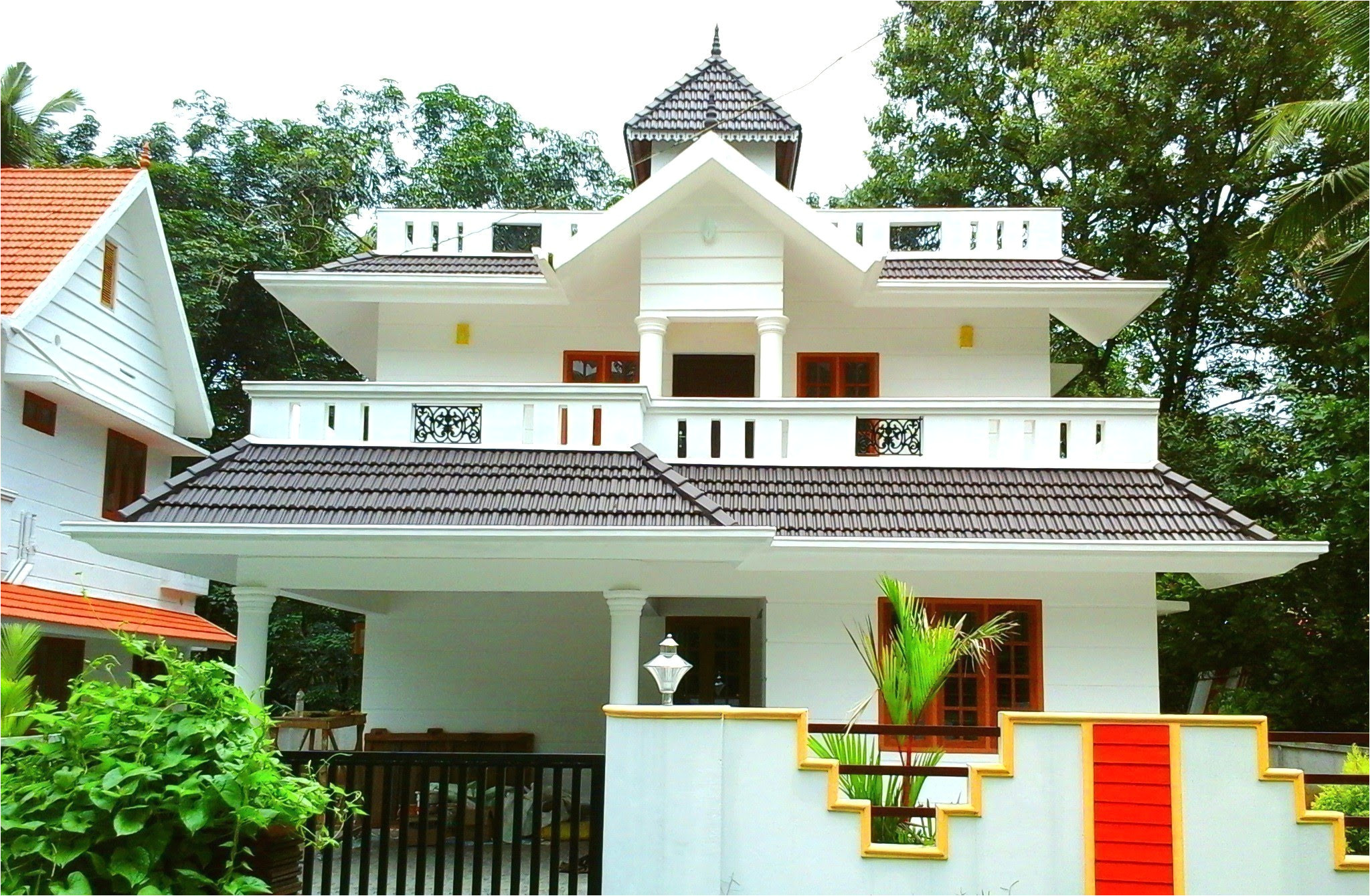 medium house plans with photos in kerala