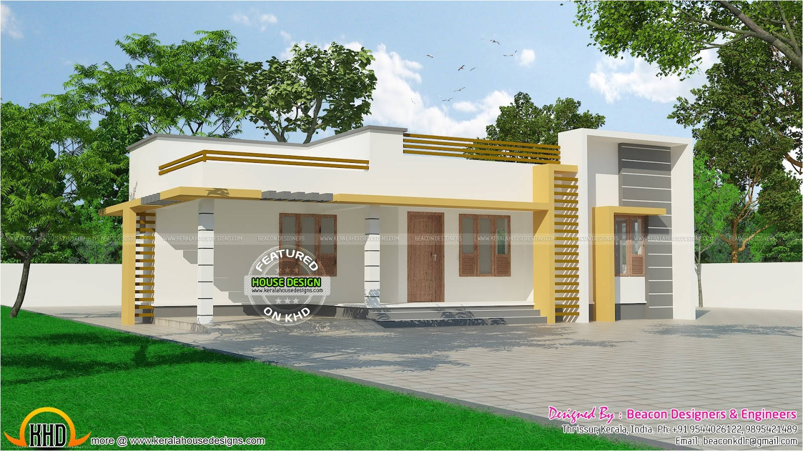 small house plans in kerala with photos