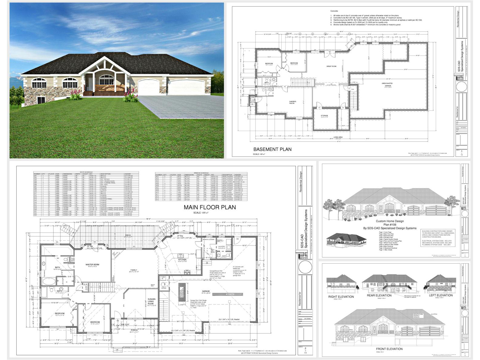 100 house plans catalog page 018