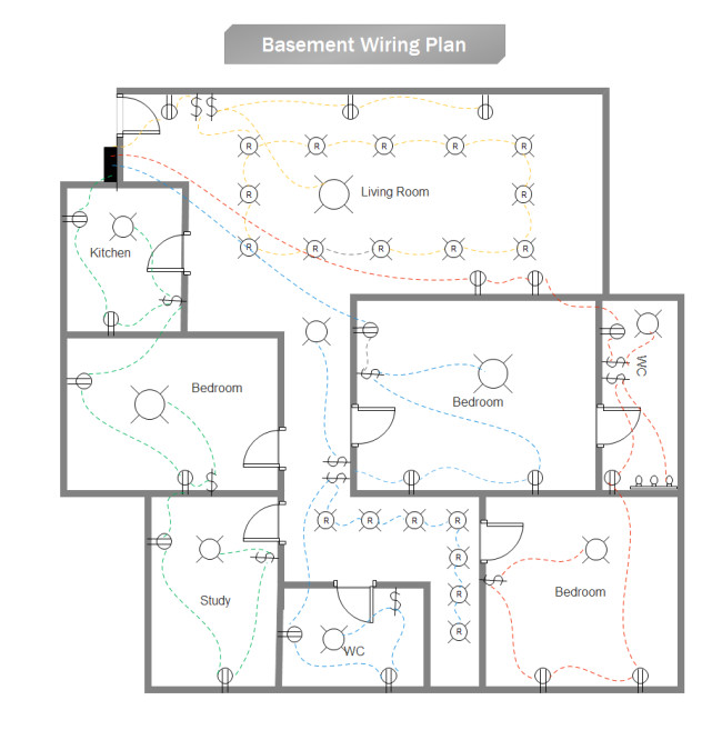 create house electrical plan