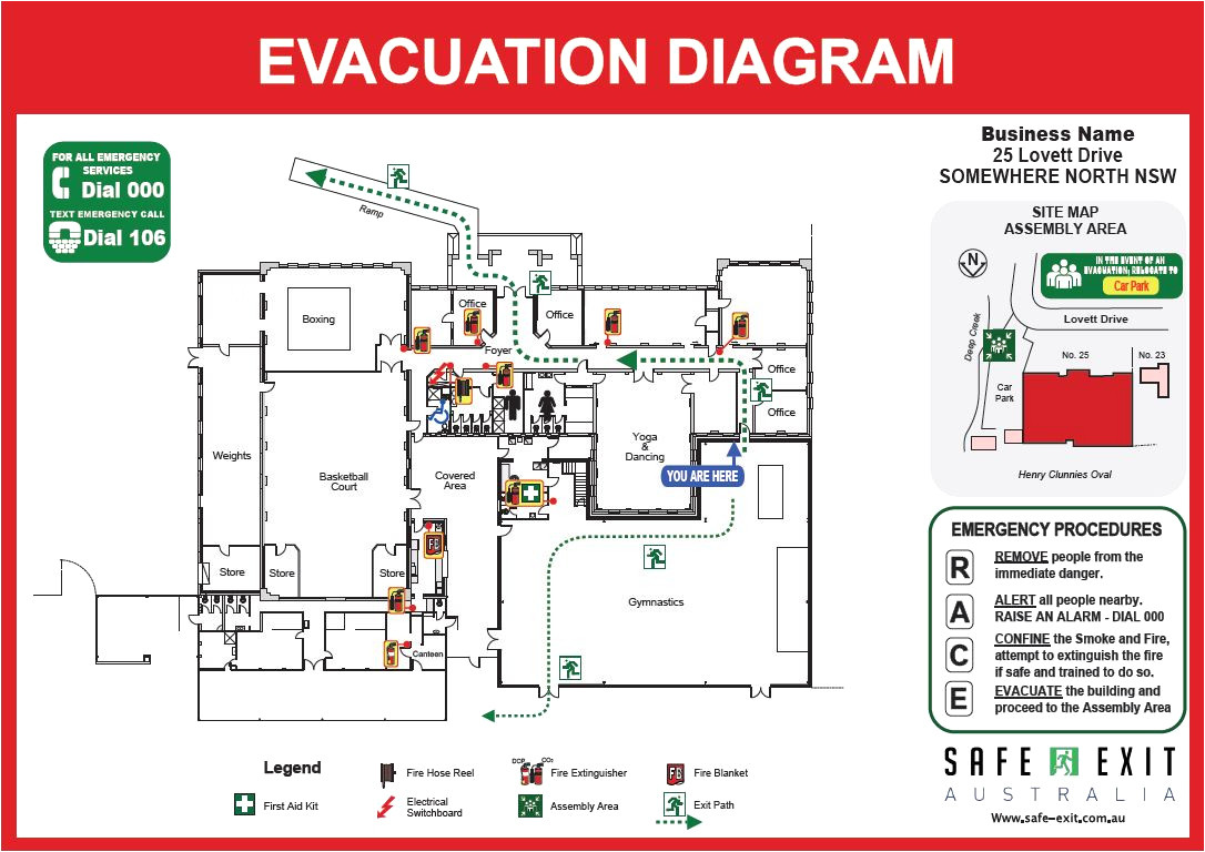 how to draw an evacuation floor plan elegant emergency exit floor plan template flooring ideas and inspiration