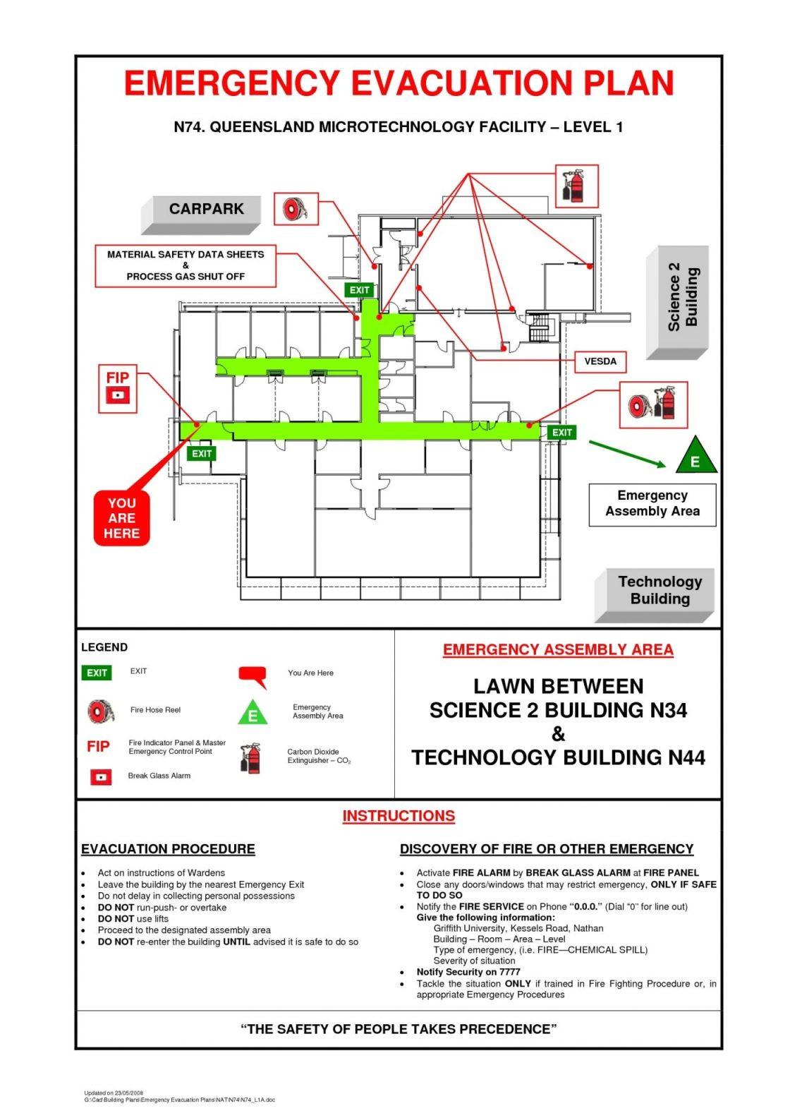 emergency evacuation checklist4