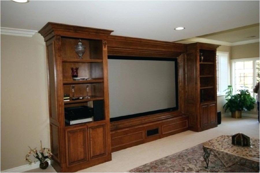 built in entertainment center