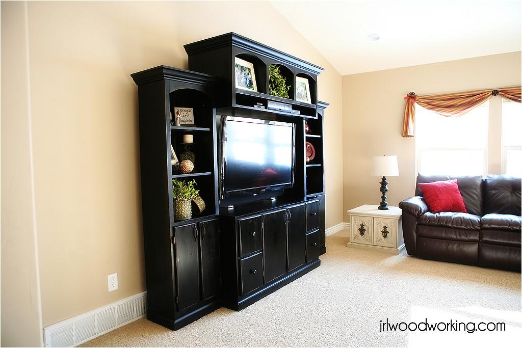 custom home entertainment center plans