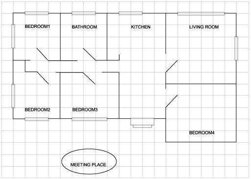 home escape plan grid