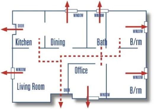home emergency evacuation plan template1
