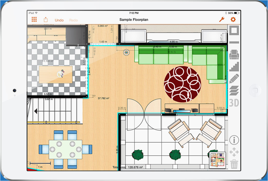 floor plans for ipad review