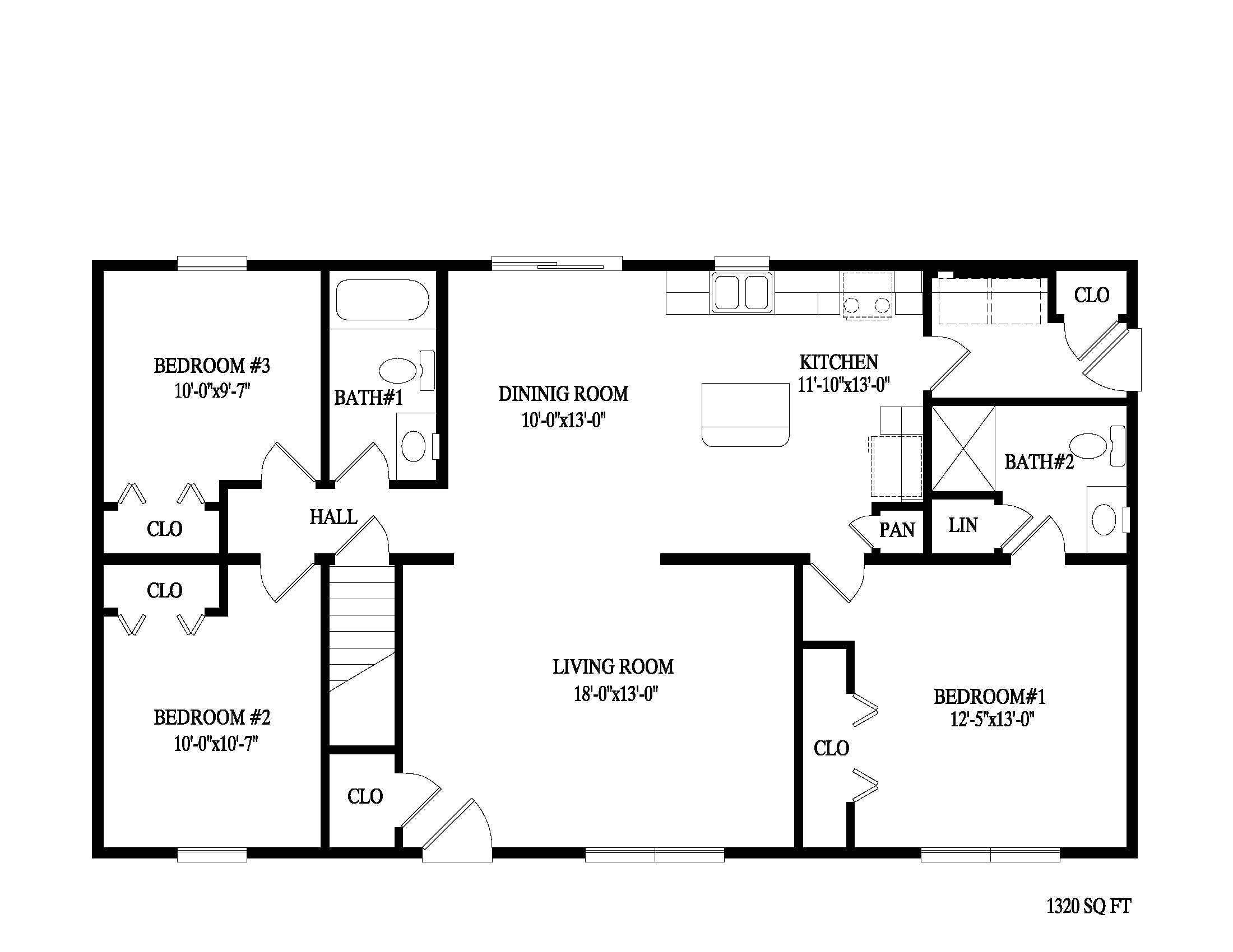 Home Floor Plans Online Apartments Bedroom Ranch Ideas Also Charming 2 Bath Floor