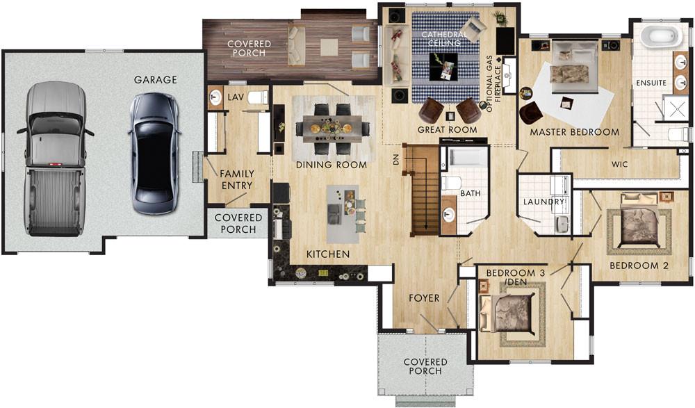 Home Hardware Building Plans Beaver Homes and Cottages Elk Ridge