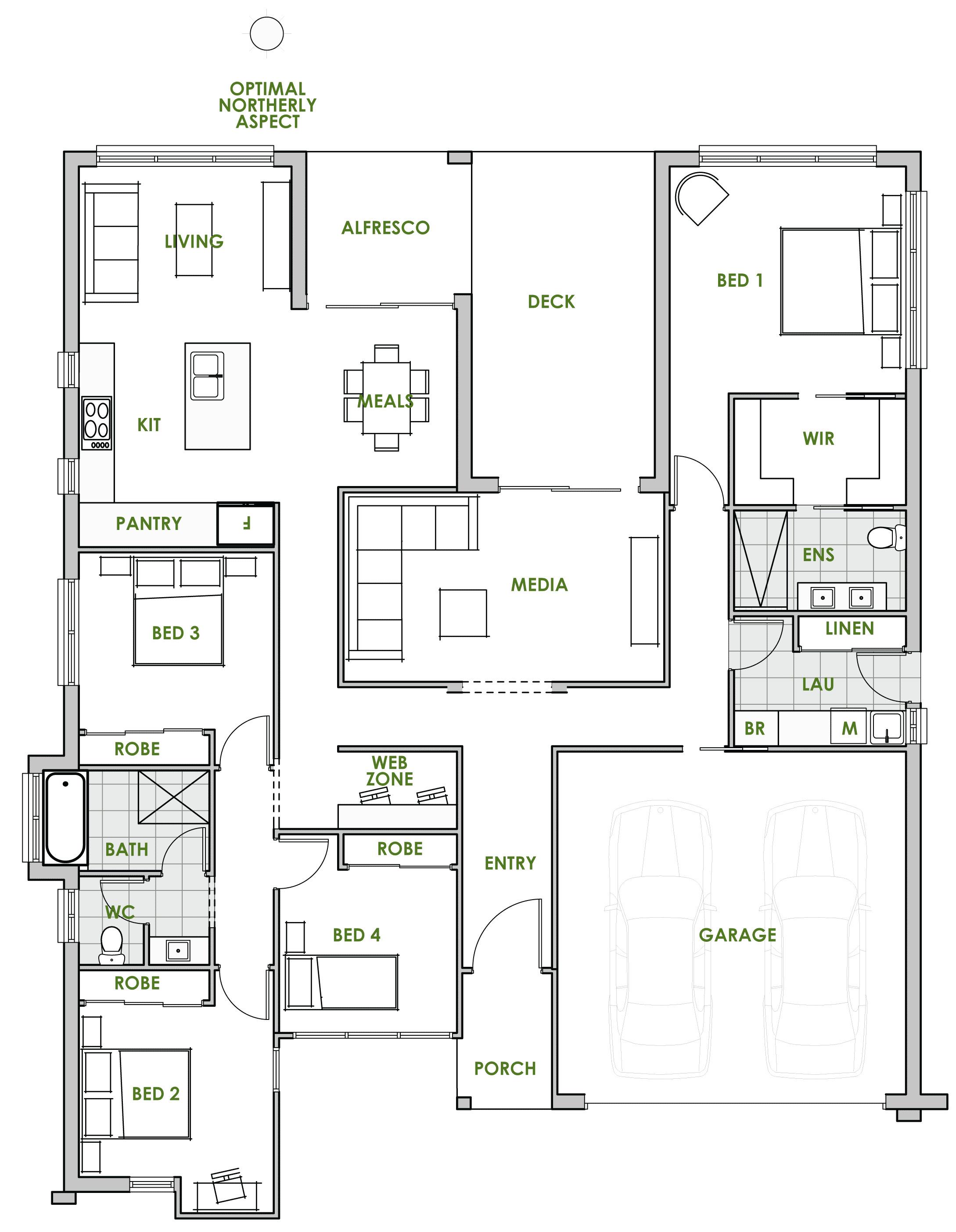 Home Improvement House Floor Plan Energy Efficient Homes