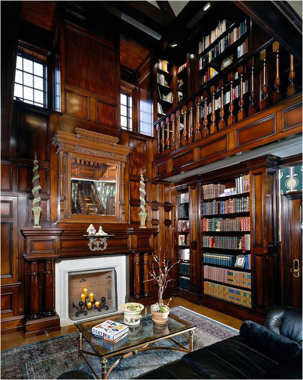 home library ideas for men