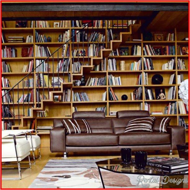 Home Library Design Plans Home Library Design Rentaldesigns Com