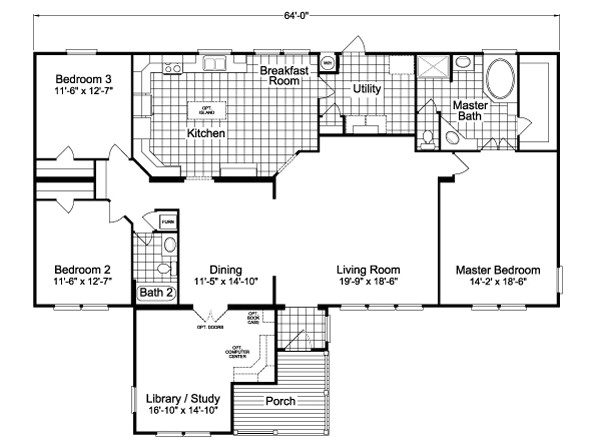 home library plans