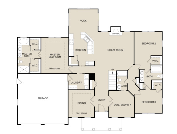 house plans with library room