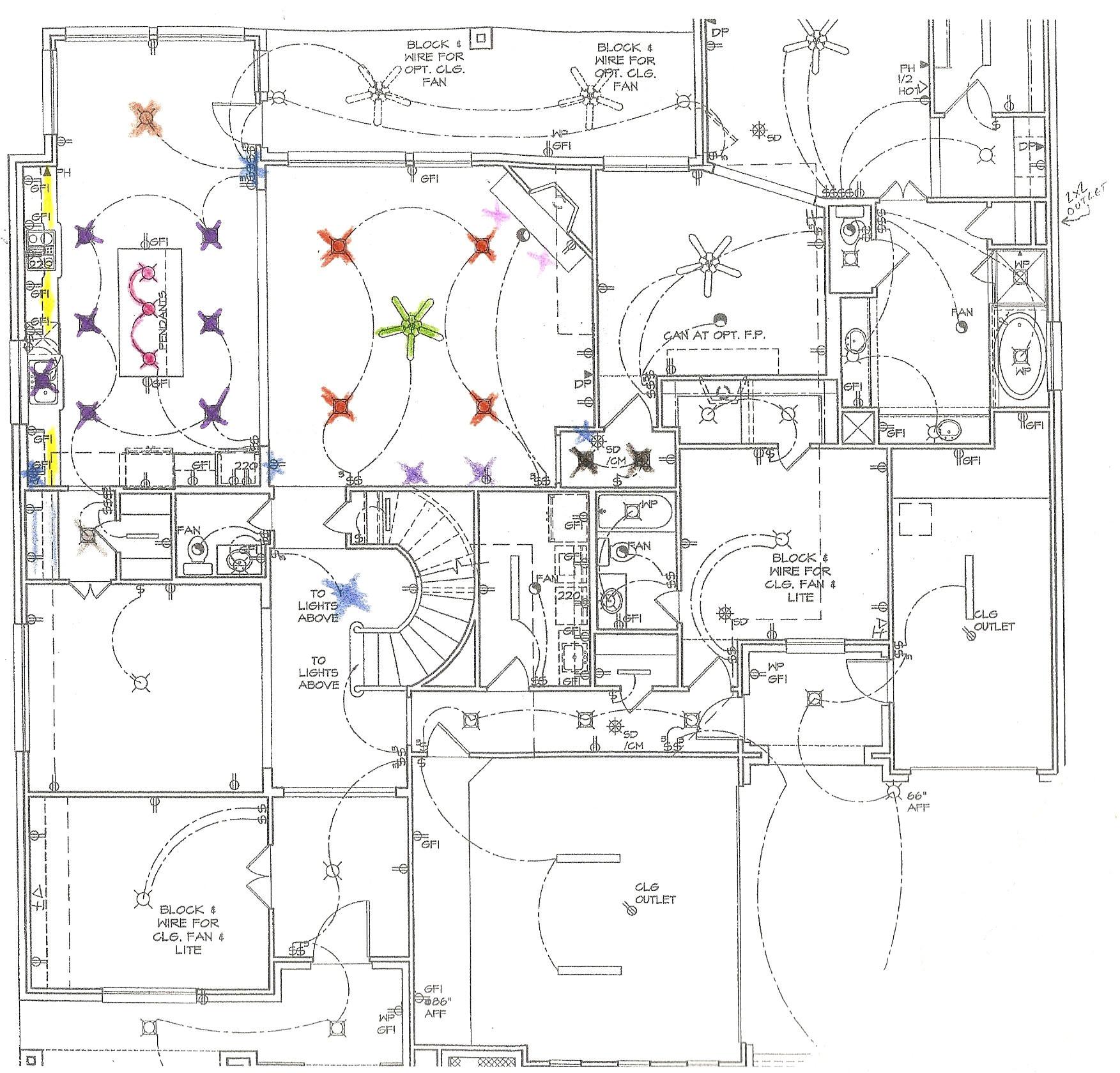 Home Lighting Plan Jandjw
