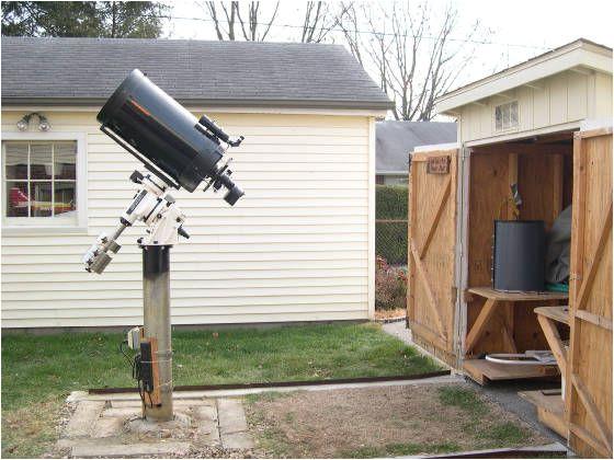amateur backyard observatories