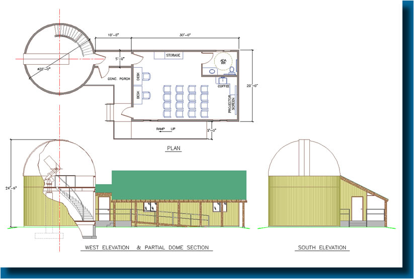 home observatory plans