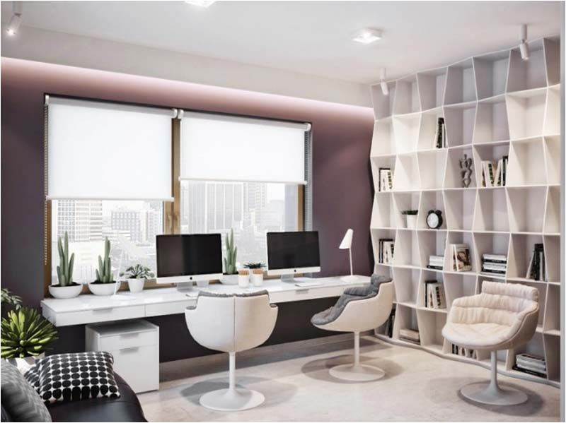 how to pull off a home office with style