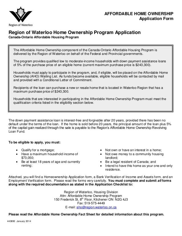 ontario home ownership savings plan 2013