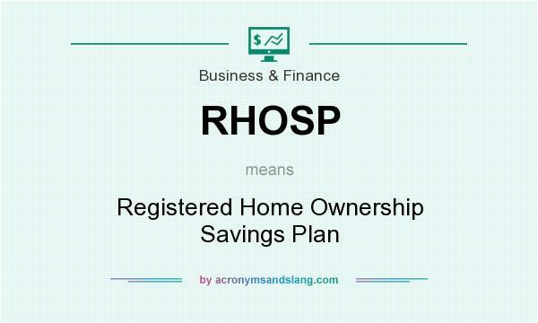 rhosp meaning