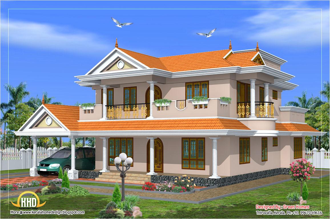 beautiful 2 storey house design 2490 sq