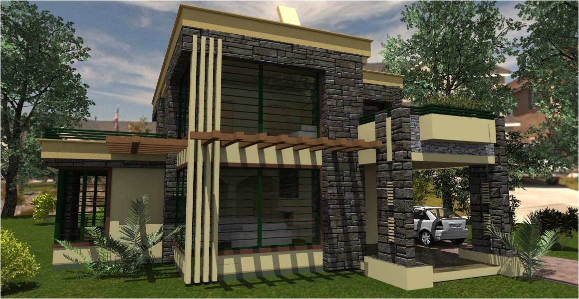 conte 4 bedroom house design