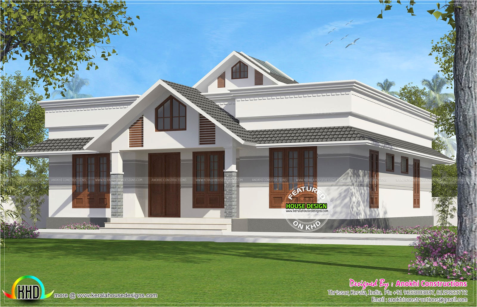 new small house plans kerala