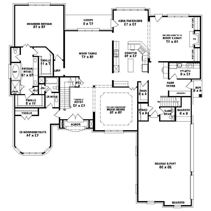 Home Plan Details Nice Bedroom Floor Plans Story with House Plan Details