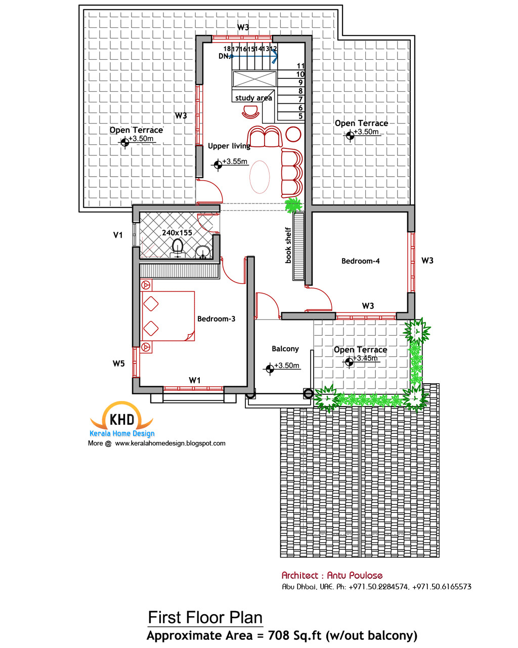 house plan and elevation 2000 sq ft