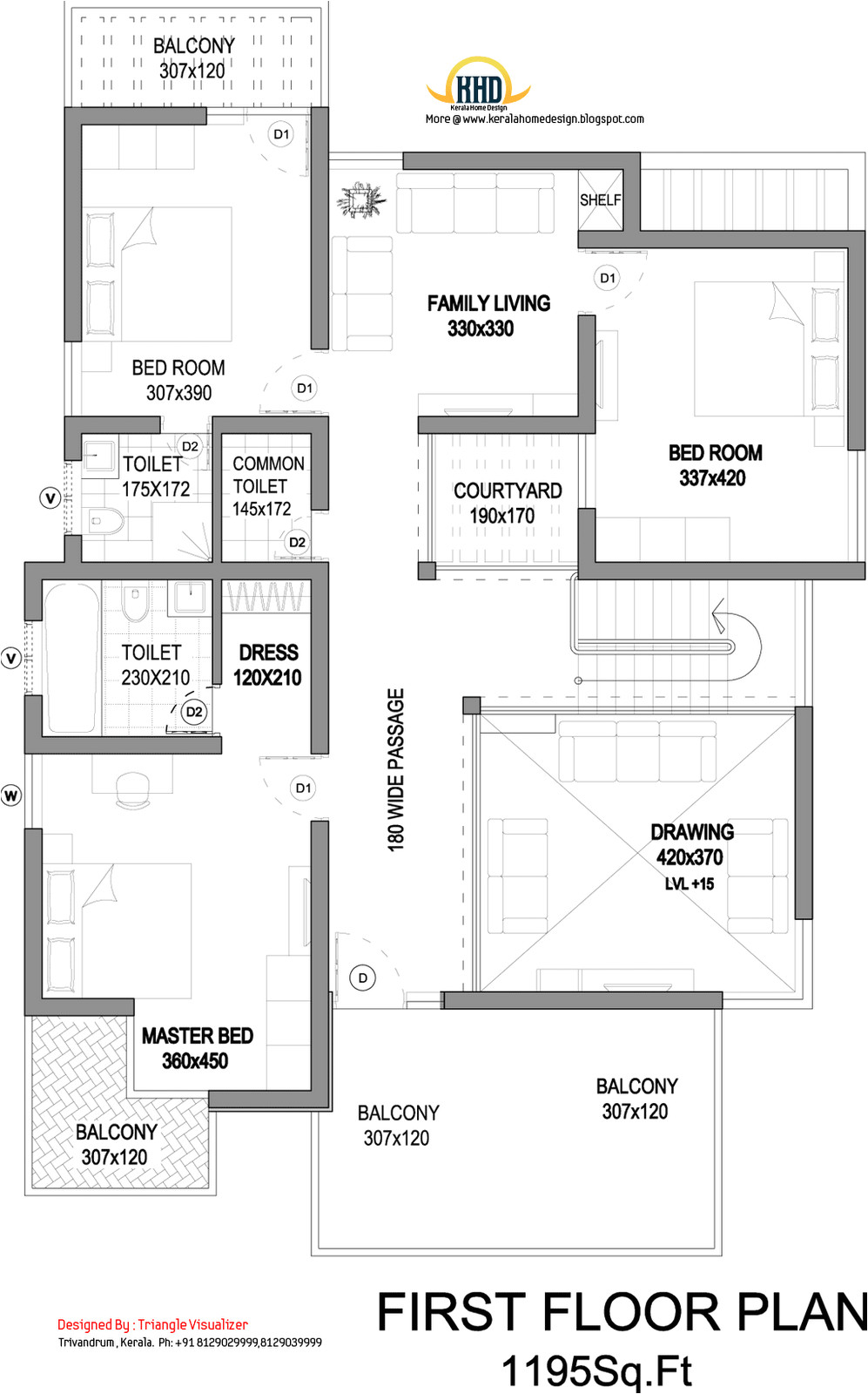 modern house elevation 2831 sq ft