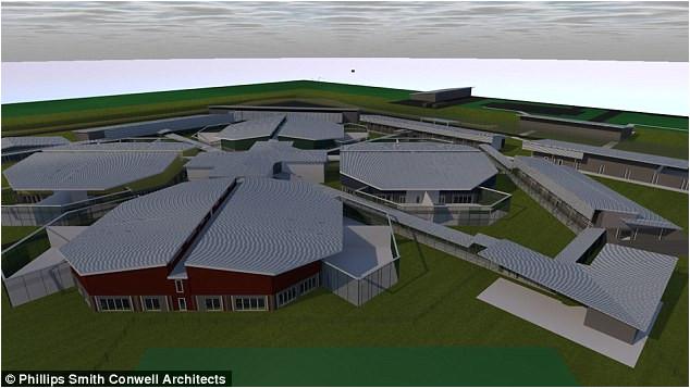 maximum security inmates bunk dormitories new rapid build prisons house increasing prison population