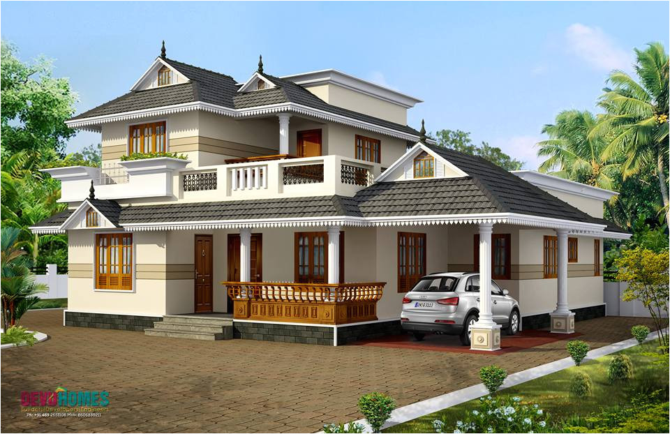 kerala style home plans 2