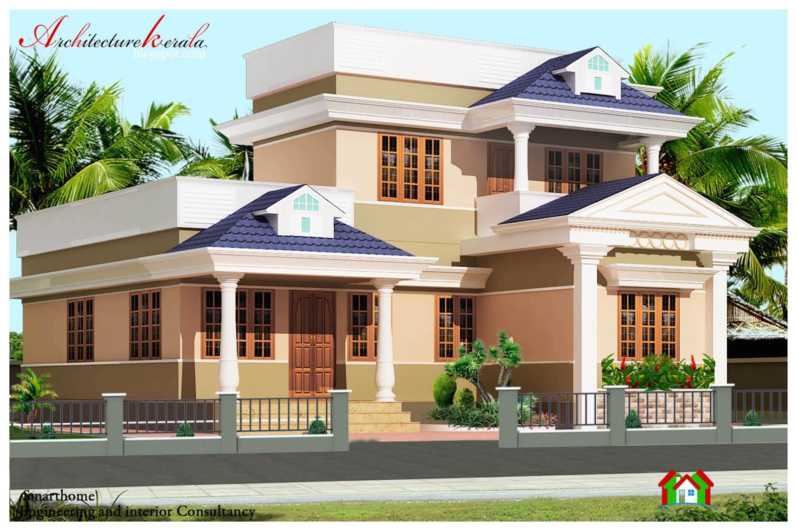 1000 sq ft kerala style house plan