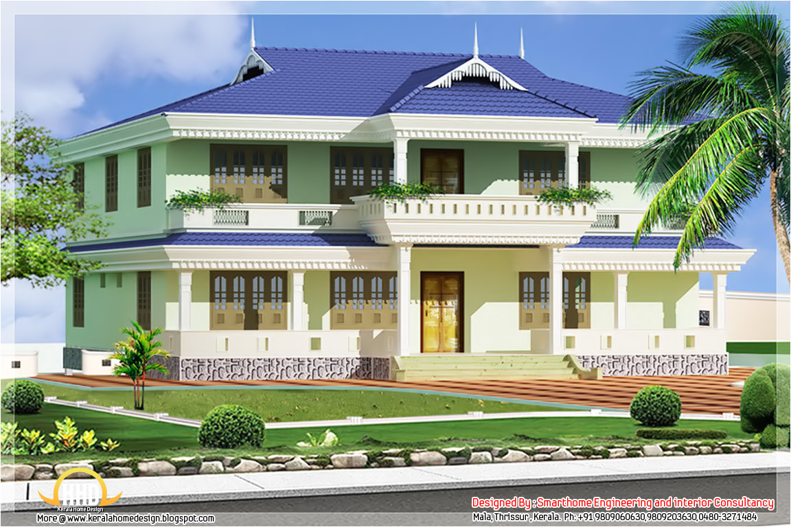 kerala style house plans front elevation