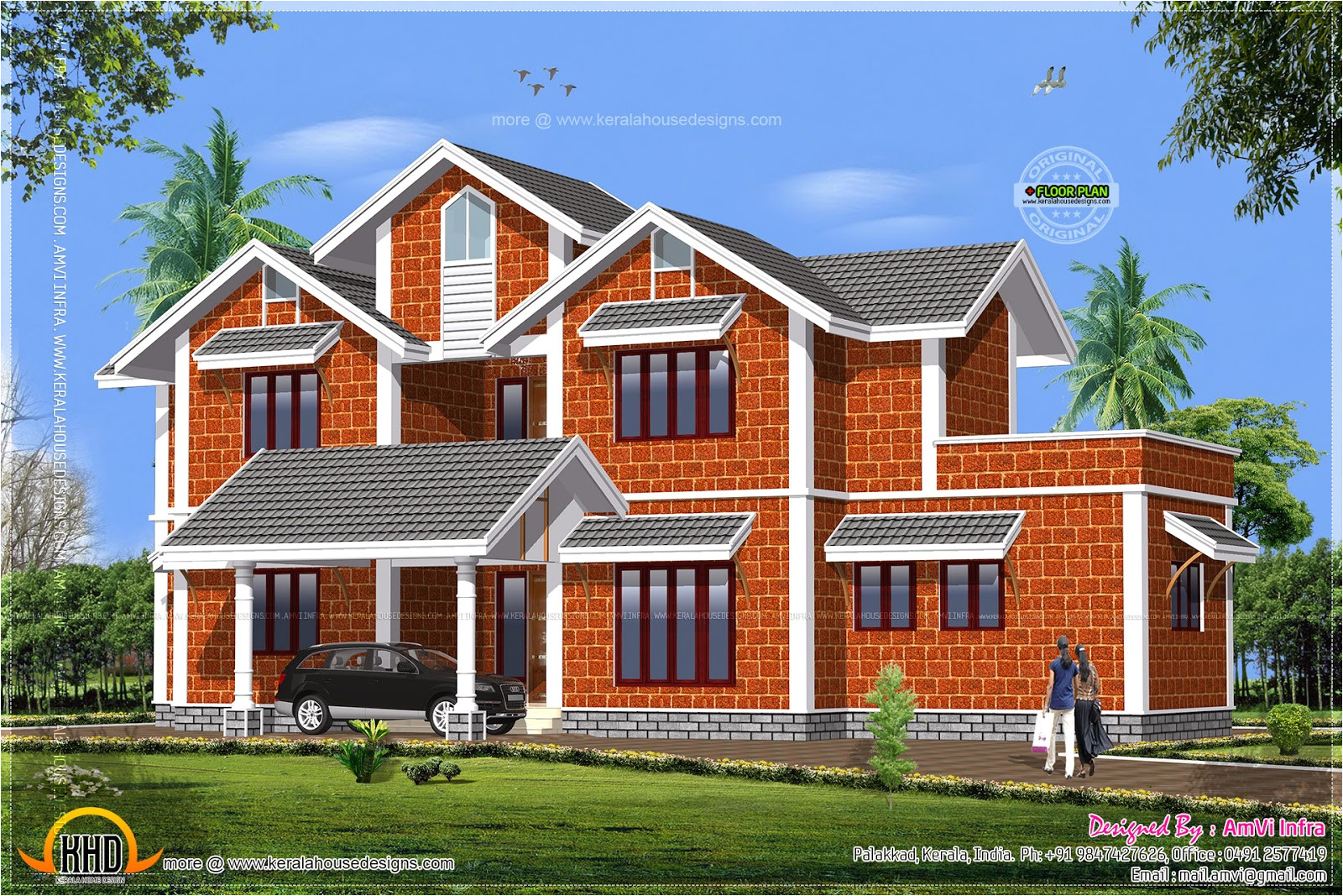 house made of laterite stone