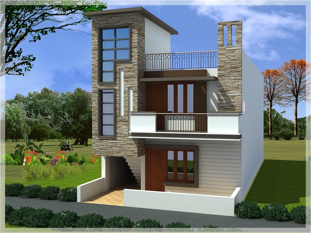 modern duplex home plans style