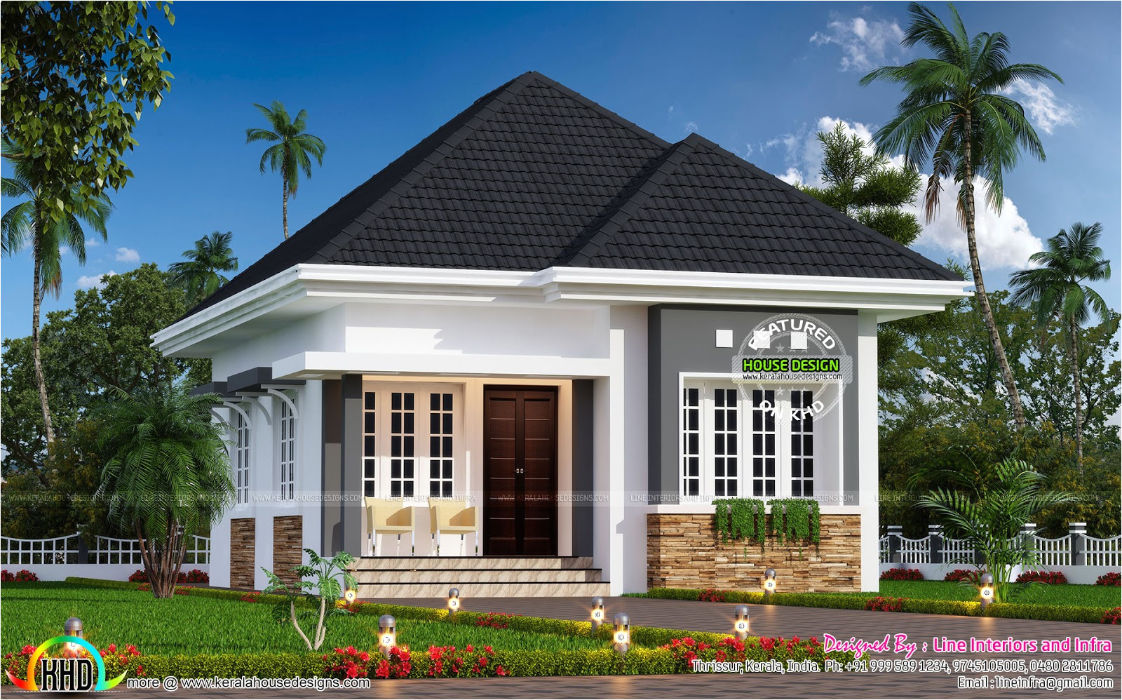 cute little small house plan