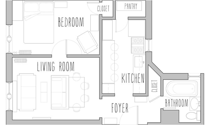 17 beautiful small house plans 500 sq ft