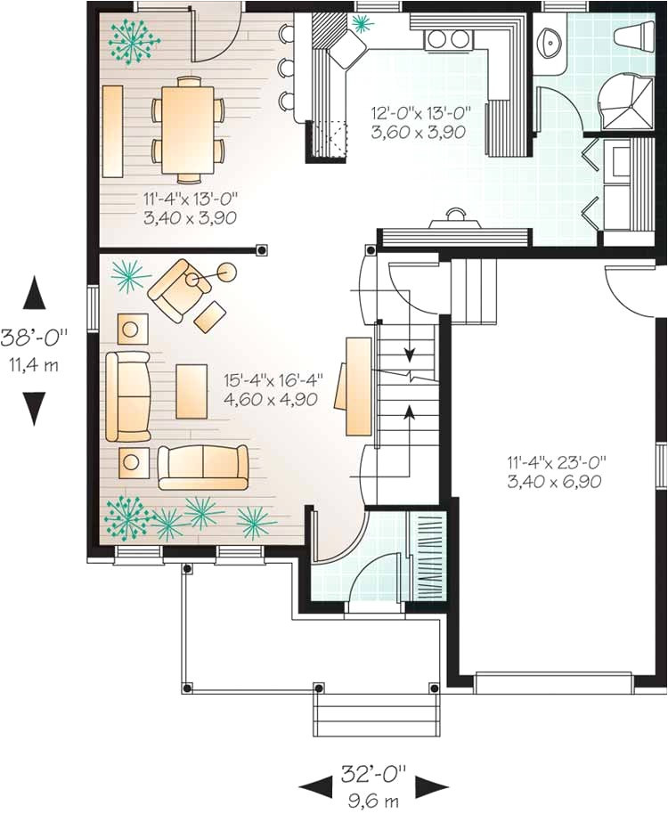 Home Plans Less Than00 Sq Ft House Plans Less Than 700 Square Feet