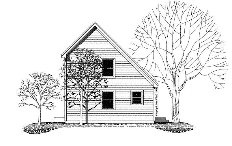modern saltbox house plans