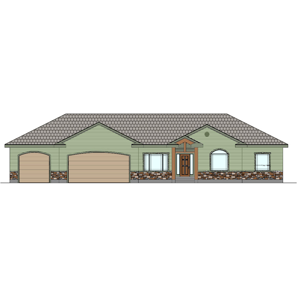 one level house plans with 3 car garage lovely trendy inspiration two story house plans newfoundland 11 3 car