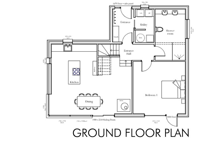 Home Plans to Build Floor Plan Self Build House Building Dream Home