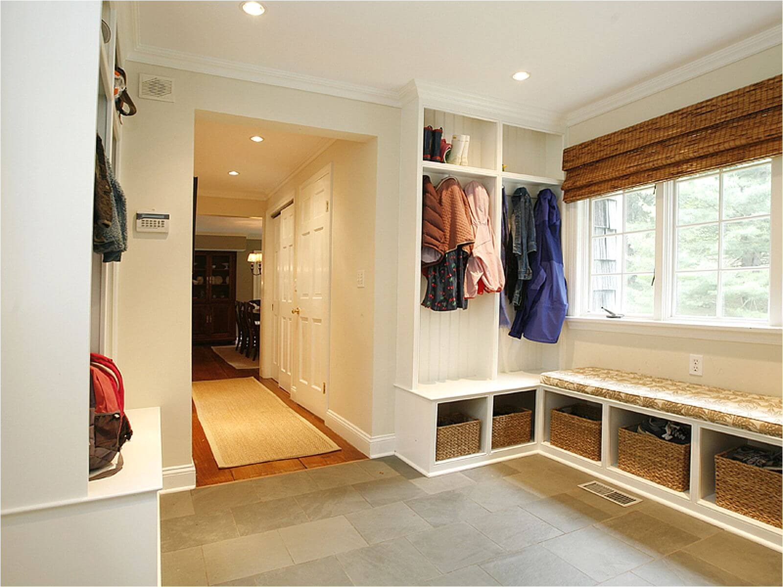 mudroom entryway design ideas benches storage lockers pictures